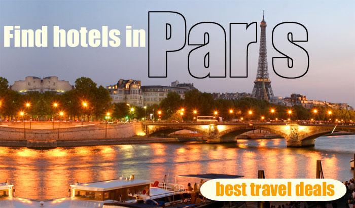 find hotels in Paris