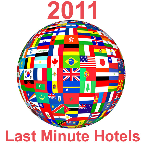 Find last minute hotels in 2011