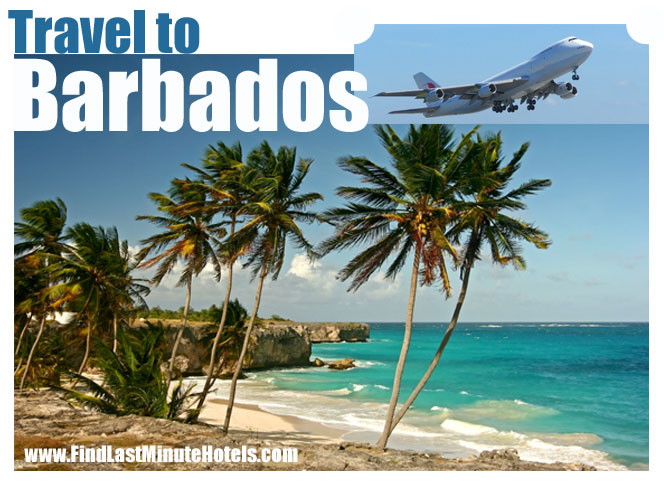 travel to Barbados and see the beach