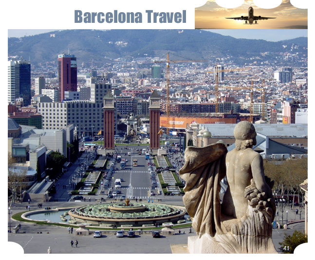 travel to Barcelona in Spain