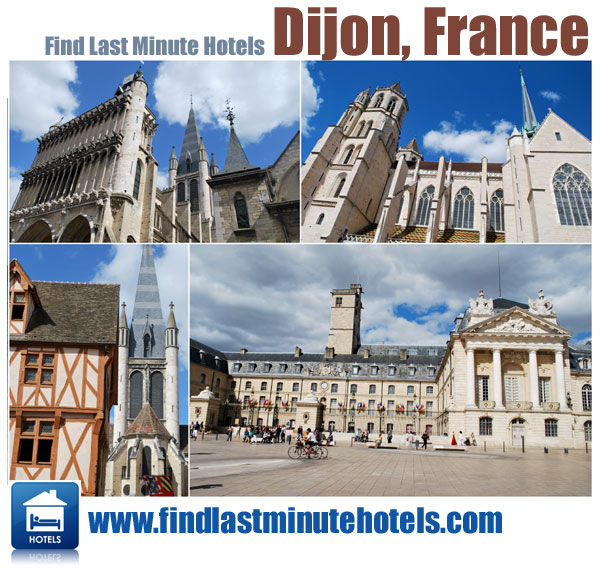 find last minute hotels and travel to Dijon