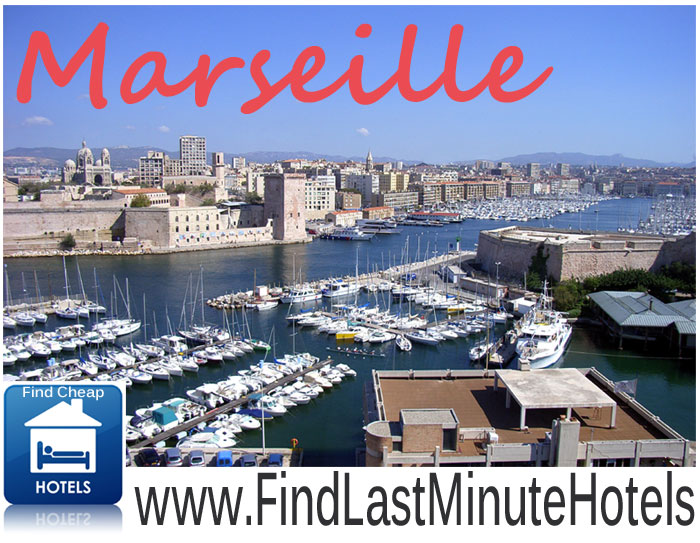 find cheap last minute hotels in Marseille, France