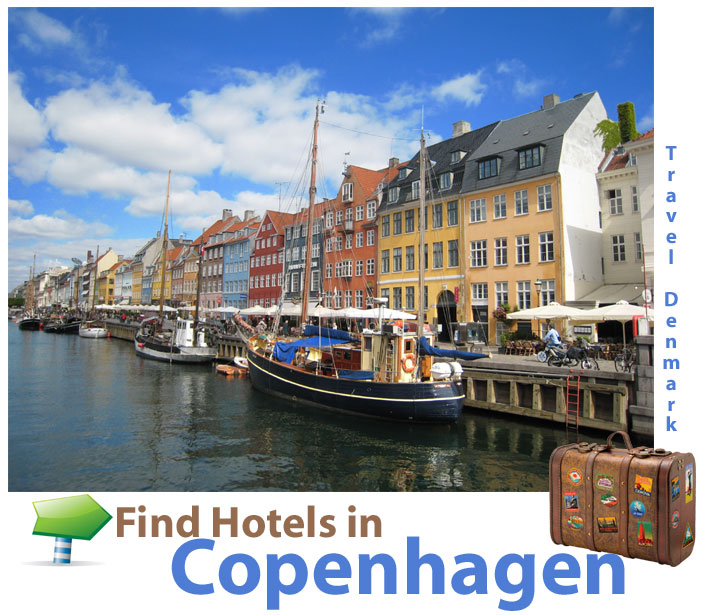 find hotels in Copenhagen