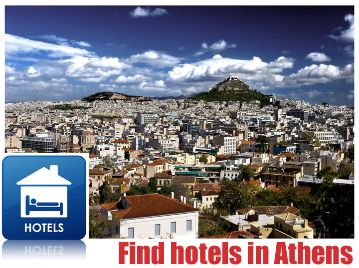 find hotels in Athens, Greece