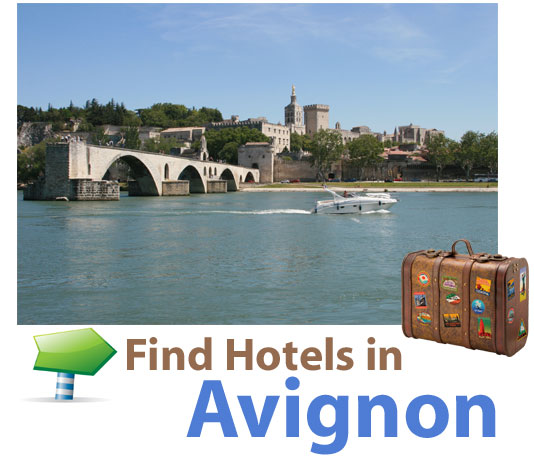 find last minute hotels in Avignon, France