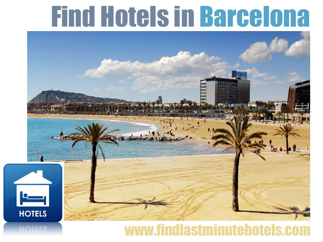 find hotels in Barcelona, Spain