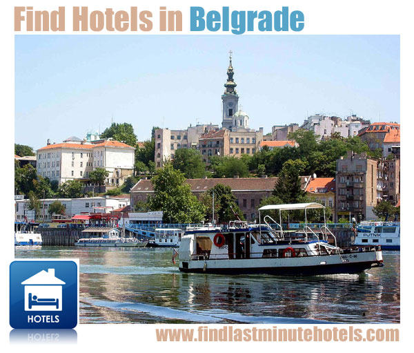 find last minute hotels in Belgrade