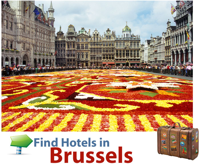 find last minute hotels in Brussels