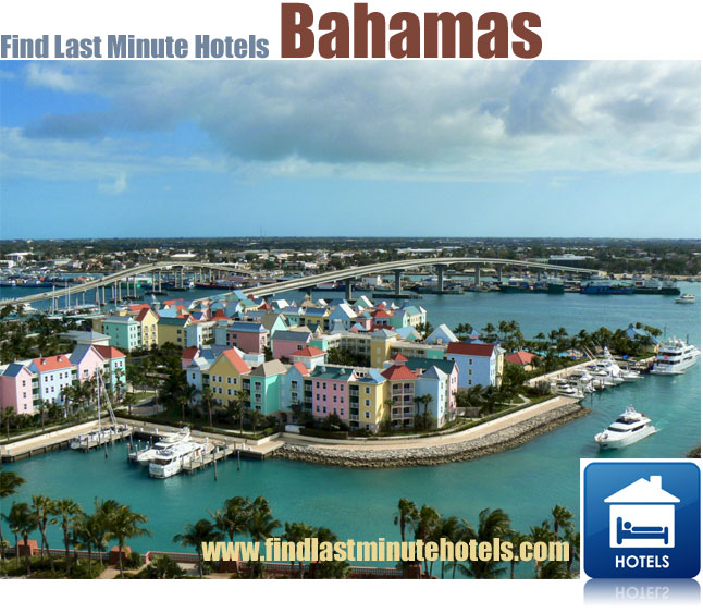 find hotels in the Bahamas