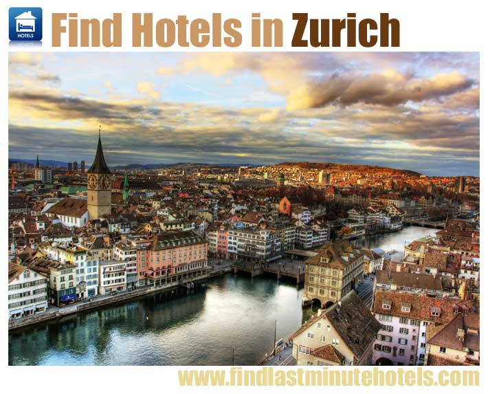 find last minute Zurich hotels, Switzerlan