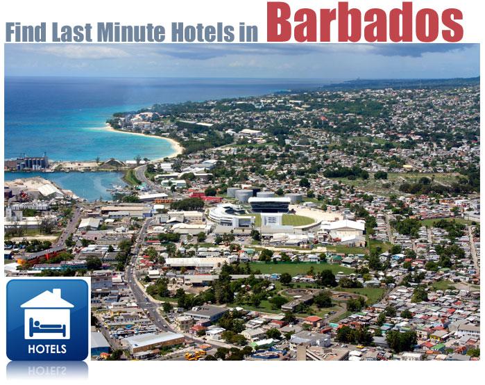 find last minute barbados hotels