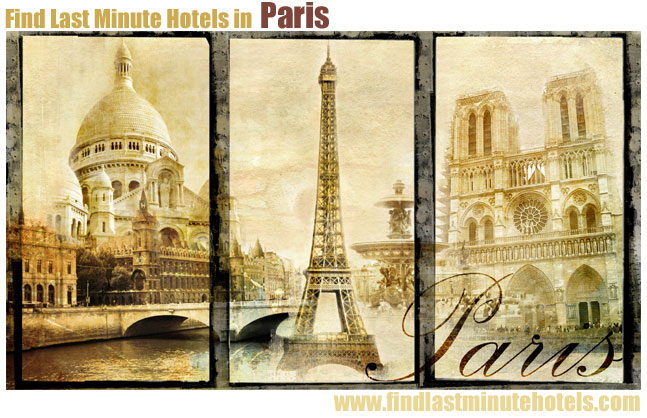 Paris hotels last minute