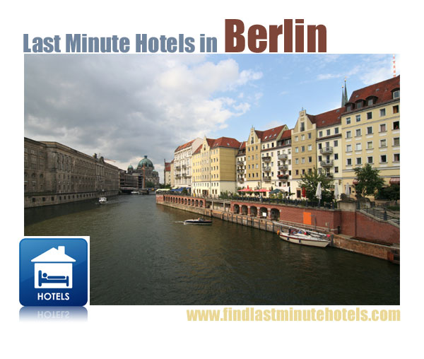find last minute Berlin hotels