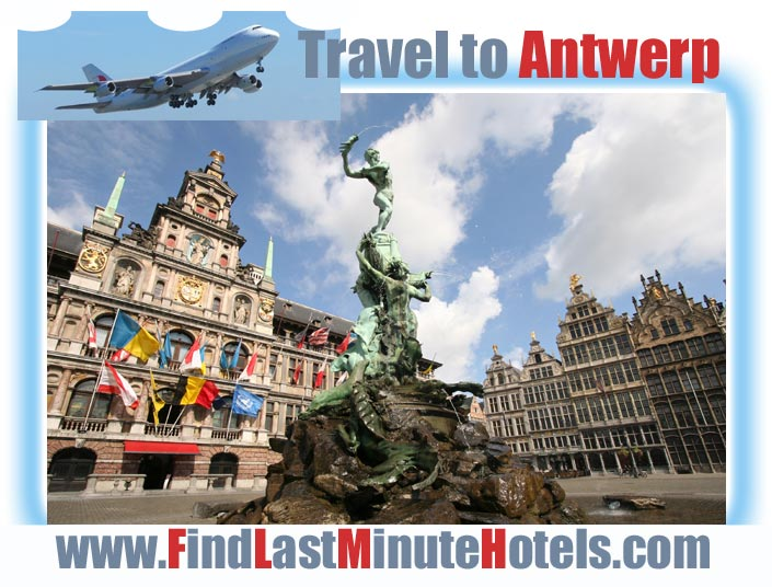 travelling to Antwerp in Belgium