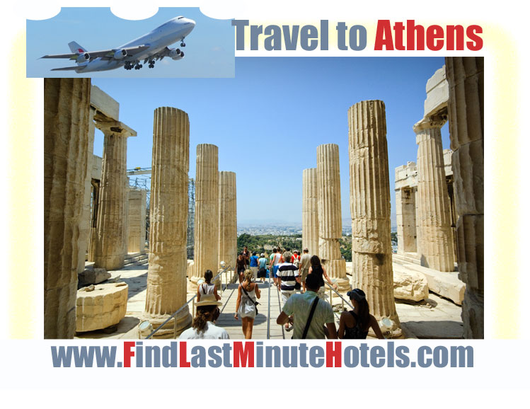 Travelling to Athens in Greece