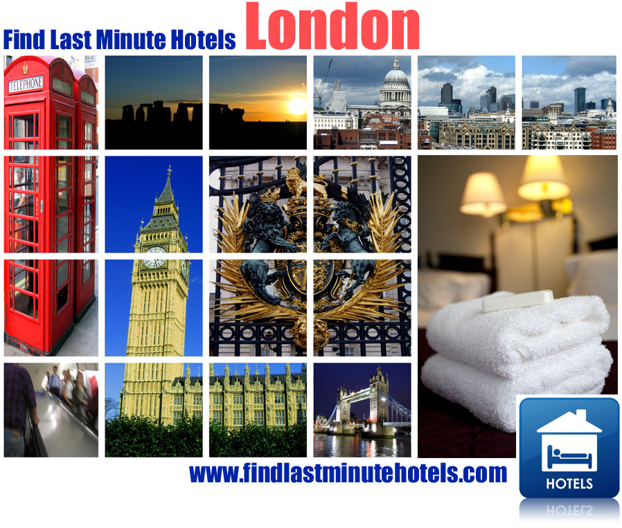 Find last minute hotels in London